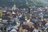 Elevated View over the City of Prague, Czech Republic, Europe Photographic Print by  Angelo