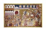 Dasaratha Comes Back after Putreshthi's Sacrifice Art