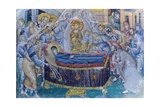 Mosaic, Dormition of Virgin Mary Poster