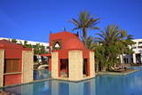 Swimming Pool at Hotel, Agadir, Morocco, North Africa, Africa Photographic Print by  Neil