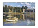 Bridge at Argenteuil Prints by Claude Monet