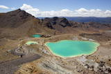Emerald Lakes on the Tongariro Alpine Crossing Photographic Print by  Stuart