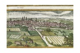 View of Valladolid Giclee Print by Abraham Ortelius