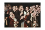 Jesus and the Children Posters by Lucas Cranach the Elder