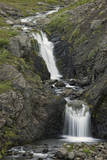 Waterfall and Stream, Iceland, Polar Regions Photographic Print by  James