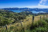 Beautiful Scenery around Akaroa Harbour Photographic Print by  Michael