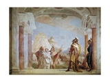 Eurybates and Talthybius Leading Briseis to Agamemnon Posters by Giovanni Battista Tiepolo