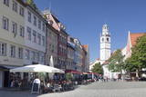 Marienplatz Square with Waaghaus and Blaserturm Tower Photographic Print by  Markus