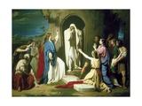 Resurrection of Lazarus Posters by Jose Casado Del Alisal