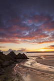 Three Cliffs Bay, Gower, Wales, United Kingdom, Europe Photographic Print by  Billy