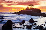 Battery Point Lighthouse at Sunset Photographic Print by  Miles