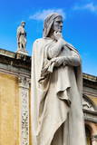 Statue of Dante Alighieri Photographic Print by  Nico