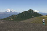 Cerro Puntiagudo and Volcan Osorno Photographic Print by  Tony