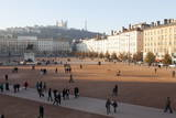 Place Bellecour, Lyon, Rhone-Alpes, France, Europe Photographic Print by  Oliviero