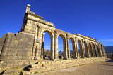 Excavated Roman City, Volubilis, Morocco, North Africa Photographic Print by  Neil