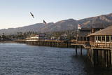 Stearns Wharf Photographic Print by  Stuart