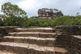 Sigiriya (Lion Rock), UNESCO World Heritage Site, Sri Lanka, Asia Photographic Print by  Charlie