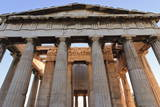 The Hephaisteion (The Temple of Hephaistos) Photographic Print by  Eleanor