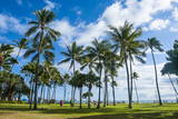 Waikiki Beach, Oahau, Hawaii, United States of America, Pacific Reproduction photographique par  Michael