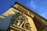 Arc De Triomphe, Paris, France, Europe Photographic Print by  Neil