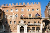 Palazzo Di Cangrande Photographic Print by  Nico