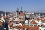 View over the Old Town (Stare Mesto) with Old Town Hall Photographic Print by  Markus