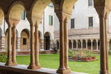 Romanesque Cloister Photographic Print by  Nico