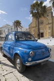 Old Fiat in Santa Cesarea Terme, Puglia, Italy, Europe Photographic Print by  Martin