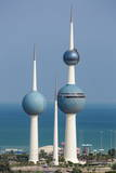 The Kuwait Towers, Kuwait City, Kuwait, Middle East Photographic Print by  Gavin