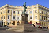 Duke De Richelieu Monument, Odessa, Crimea, Ukraine, Europe Photographic Print by  Richard