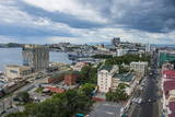 View over Vladivostok, Russia, Eurasia Photographic Print by  Michael