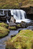 Clough Force on Grisedale Beck Near Garsdale Head Photographic Print by  Mark