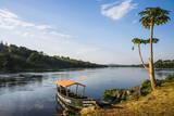 Source of the Nile in Jinja, Uganda, East Africa, Africa Fotografisk tryk af  Michael