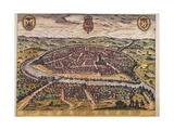 View of Seville Giclee Print by Abraham Ortelius
