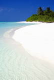 Tropical Beach, Maldives, Indian Ocean, Asia Photographic Print by  Sakis