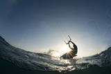 Kite Surfing on Red Sea Coast of Egypt, North Africa, Africa Photographic Print by  Louise