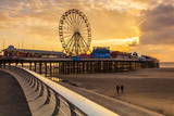 The Pier, Blackpool, Lancashire, England, United Kingdom, Europe Photographic Print by  Billy