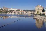 View over the River Vltava to Smetana Museum Photographic Print by  Markus