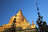 Shwezigon Paya, Bagan, Myanmar (Burma), Asia Photographic Print by  Lynn