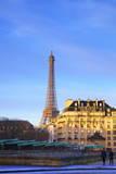 Eiffel Tower, Paris, France, Europe Photographic Print by  Neil