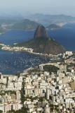 Sugar Loaf Mountain, Rio De Janeiro, Brazil, South America Photographic Print by  Angelo