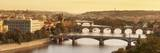 Bridges over the Vltava River Including Charles Bridge Photographic Print by Markus Lange