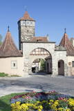 Town Gate and Rodertor Gate Photographic Print by  Marcus