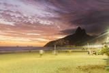 Sunset, Ipanema Beach, Rio De Janeiro, Brazil, South America Photographic Print by  Angelo