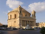 Parish Church of Santa Maria (Mosta Dome), Mosta, Malta, Europe Photographic Print by Nick Servian