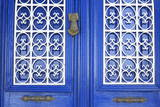 Blue Door in Bodrum, Turkey, Anatolia, Asia Minor, Eurasia Photographic Print by  Richard