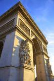 Arc De Triomphe, Paris, France, Europe Photographic Print by  Neil