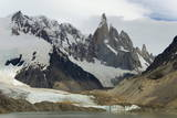 Cerro Torre and Laguna Torre Photographic Print by  Tony