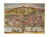 View of Przensyl, Polish City Near Lithuania Giclee Print by Abraham Ortelius