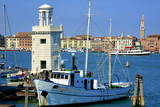 Light House and Campanile and Danieli Hotel Photographic Print by  Guy